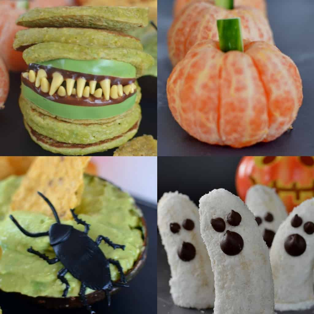 How to make a healthy and fun halloween treats for kids.