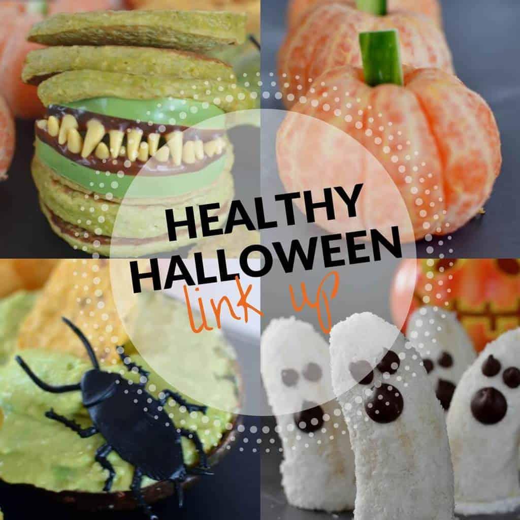Food Bloggers Healthy Halloween Food Link Up