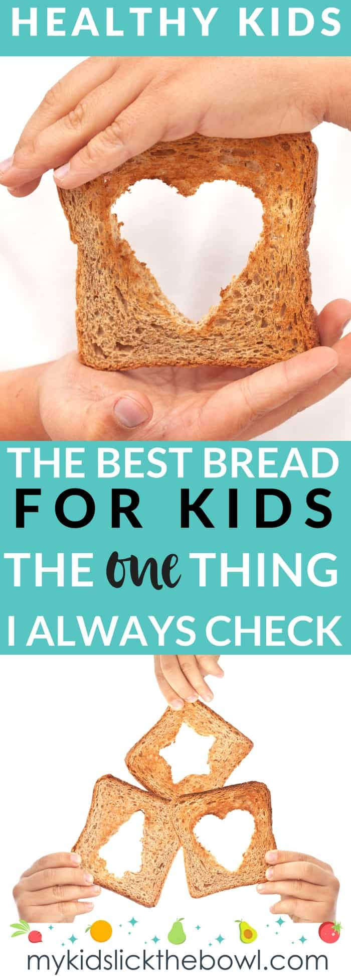 Whats better than sliced bread? The one thing I always check on the label when choosing good bread for my children