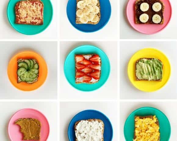 Ten of the best toast toppings your kid will love