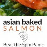 asian baked salmon super easy made with very few ingredients. Super family friendly, children love the slightly sweet flavour