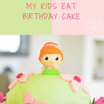 a healthy kid birthday cake, for a two year old girl full of love fun and memories