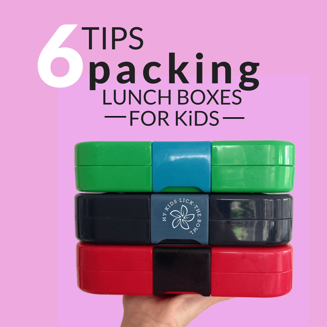 Practical guidelines for packing healthy lunch boxes for children