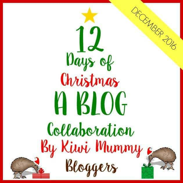 Edible broccoli Christmas tree a healthy fun Christmas snack and kid craft activity for the kiwi mummy bloggers 12 days of christmas