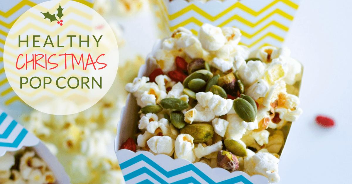 healthy christmas popcorn my kids lick the bowl