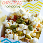 A recipe for Heathy Christmas Popcorn. A christmas treat full of fun but not the sugar for your kids