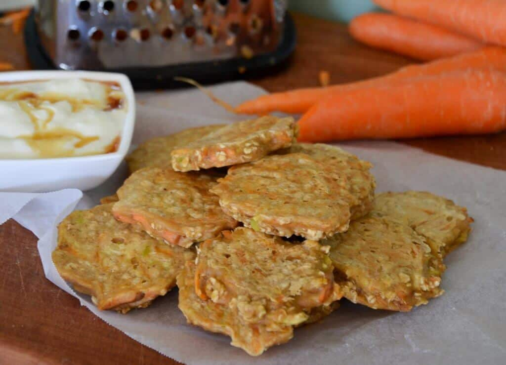 Carrot Cake Pancakes With Baby Food