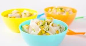 Easy Chicken Corn Noodle Soup