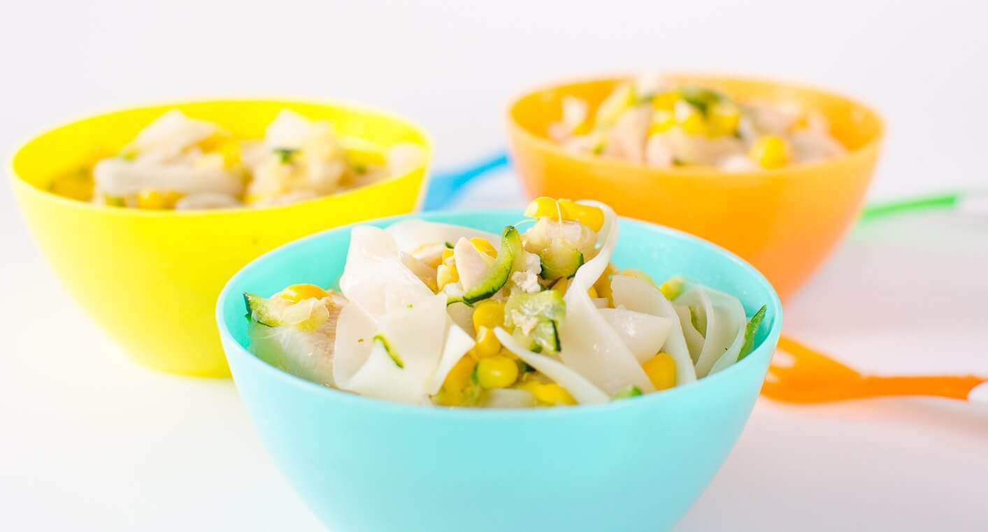 Easy Chicken Corn Noodle Soup