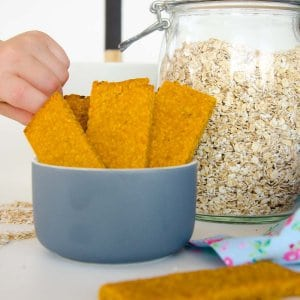 Healthy Baby Rusks- An easy teething biscuit recipe