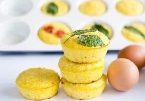 Cauliflower Cheese Egg Muffins