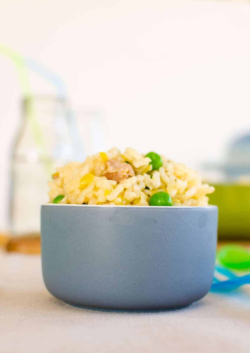 Chicken and leek baked risotto no stir risotto family friendly meal forumfinder Choice Image