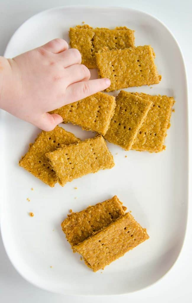 chickpea and oat crackers,