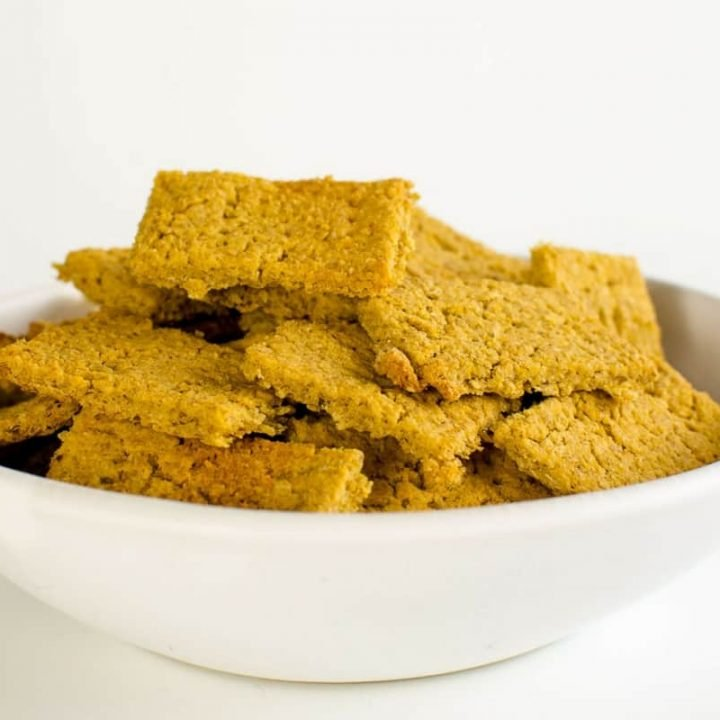 Hummus Oat Crackers Two Ingredient Recipe