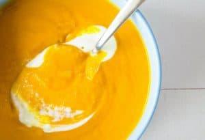 Pumpkin Peanut Butter Soup