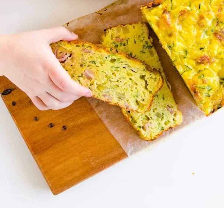 Courgette/Zucchini Slice