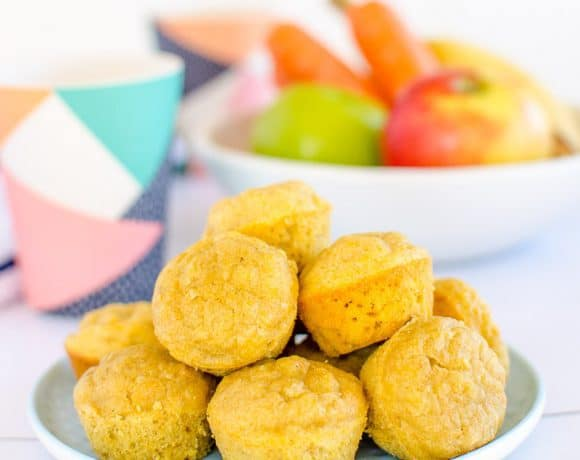 Baby Led Weaning Muffins Apple Banana and Carrot