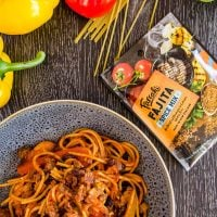 One pot pasta with Mexican fajita flavours, Quick Family meal recipe