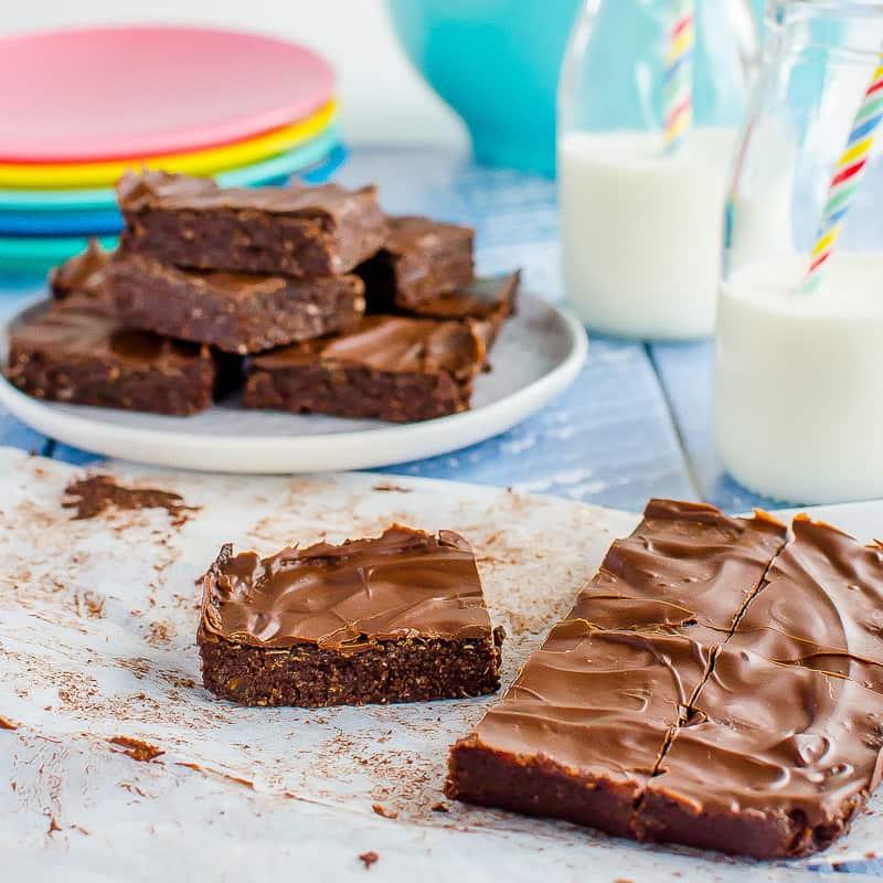 No-bake Chocolate Weetbix Slice