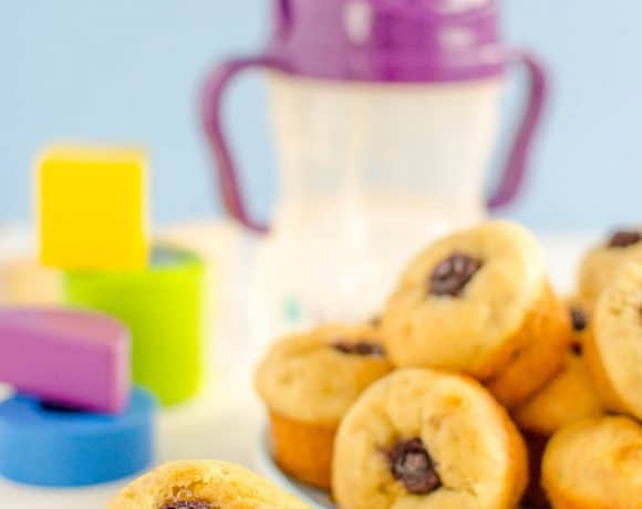 First Muffins For Baby – Banana and Blueberry