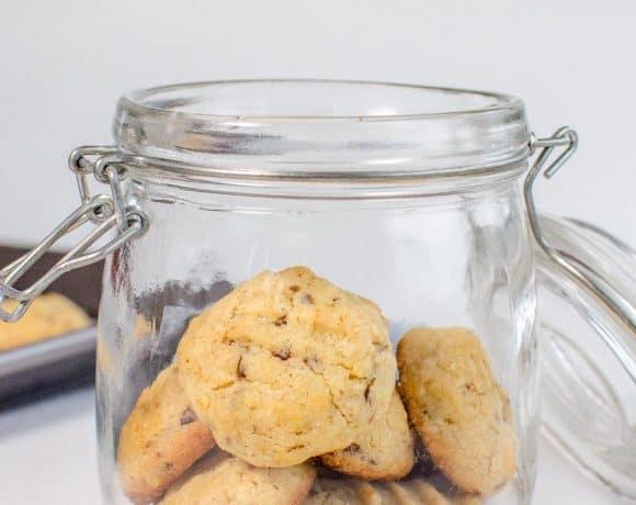 Condensed milk choc chip cookies