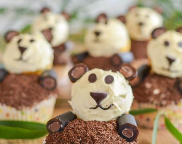 Party Perfect Panda Cupcakes