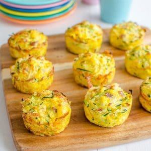 Zucchini picnic muffins are a simple Egg Muffins with rice cheese and veggies, a full meal in one muffin, great for kids and lunch boxes
