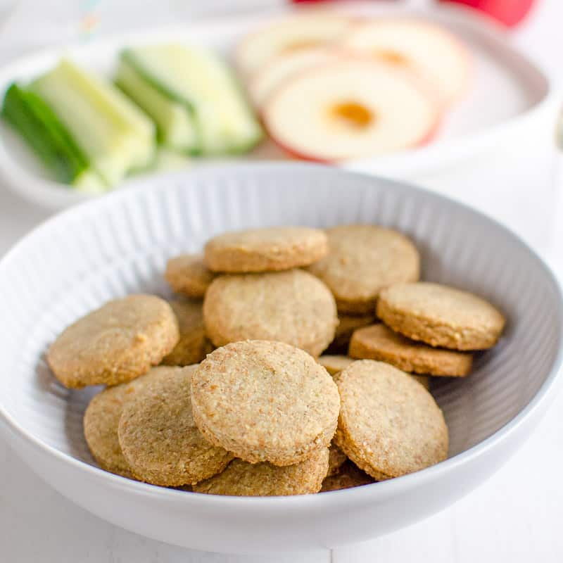 Cheesy seed crackers, and easy homemade cheese cracker with the extra nutritional boost of seeds