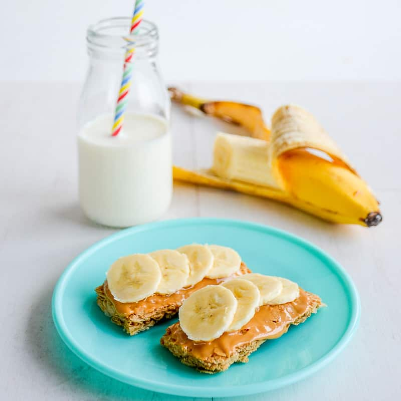 Wheat biscuit toast a healthy easy and quick breakfast for kids