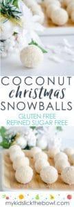 coconut snowballs,