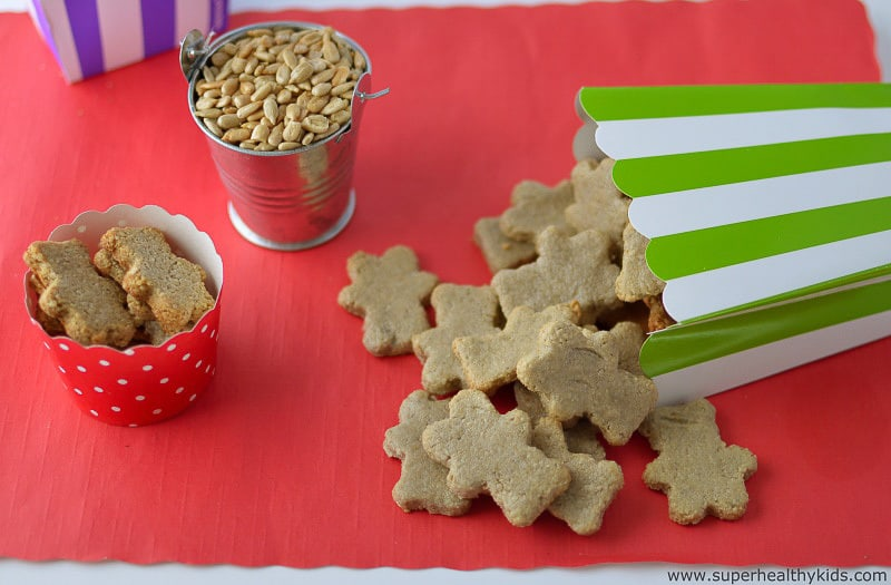 25 healthy homemade cracker recipes suitable for kids and the whole family Animal crackers via Super Healthy Kids