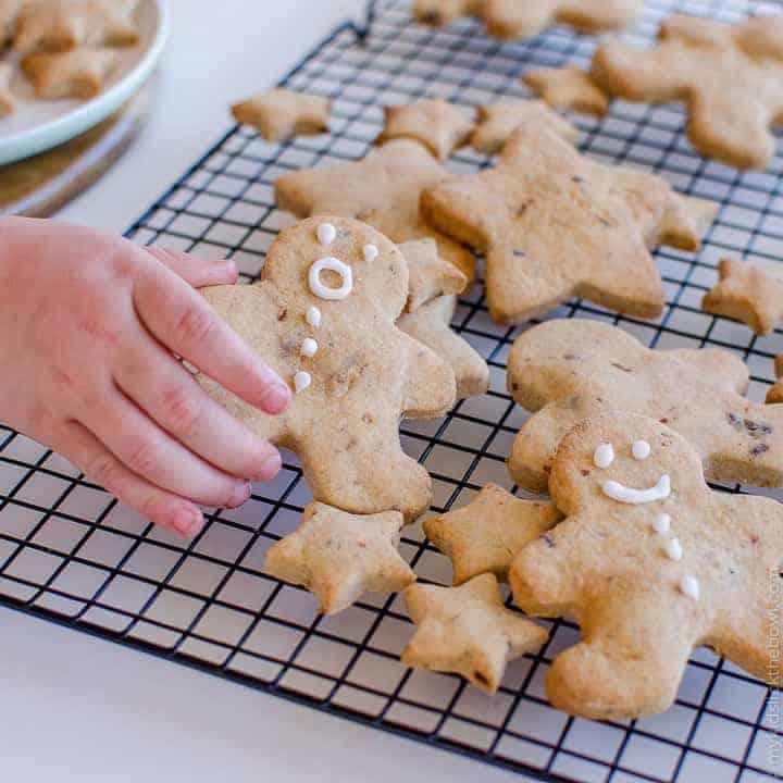 Low Sugar Christmas Cookie