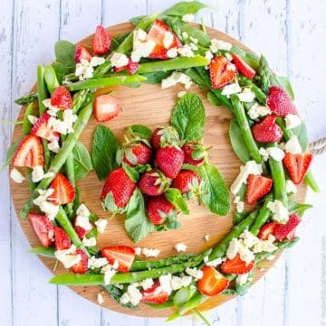 Easy Christmas Wreath Salad