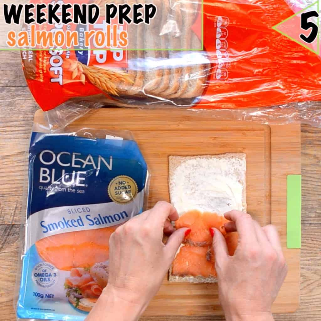 Healthy lunch box ideas start with prep, salmon rolls