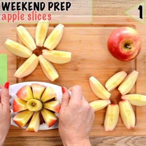 Healthy lunch box ideas start with prep, stop apple slices going brown