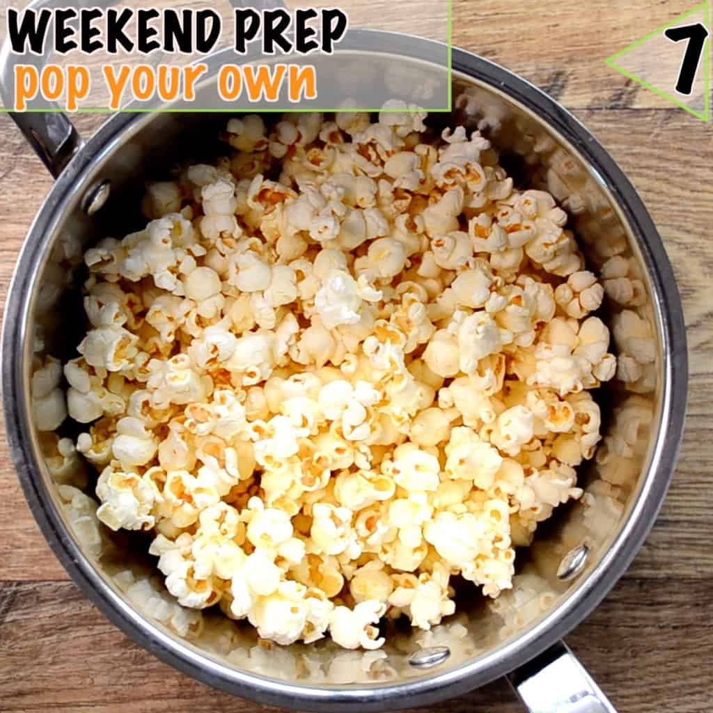 Healthy lunch box ideas start with prep, pop your own popcorn