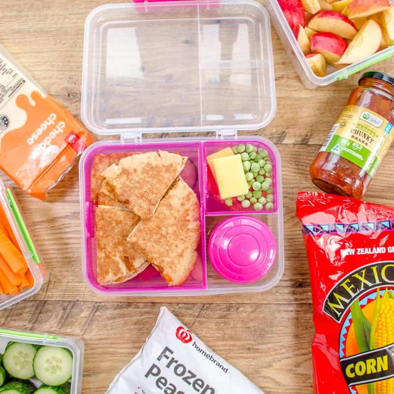 Healthy lunch box ideas start with prep