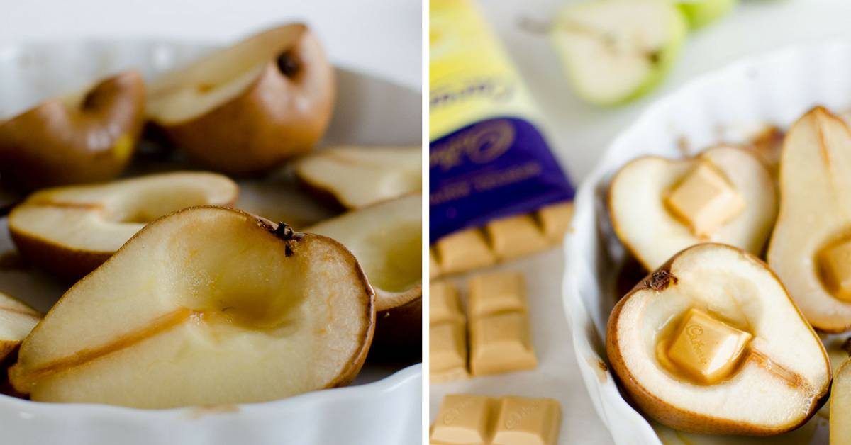 Bake Pears For Baby Food