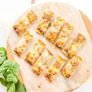 Hidden Veggie Pizza Bread, a great easy recipe for kids and picky eaters