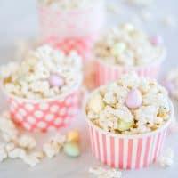 Easter Egg Hunt Popcorn an easy easter treat idea for kids