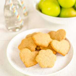 Easy gluten free peanut butter cookies, healthy, chewy, grain free, the best cookies for kids!