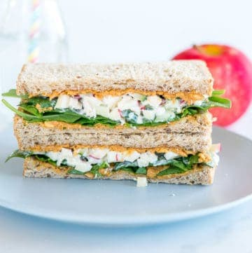 Peanut Butter Chicken Salad Sandwich