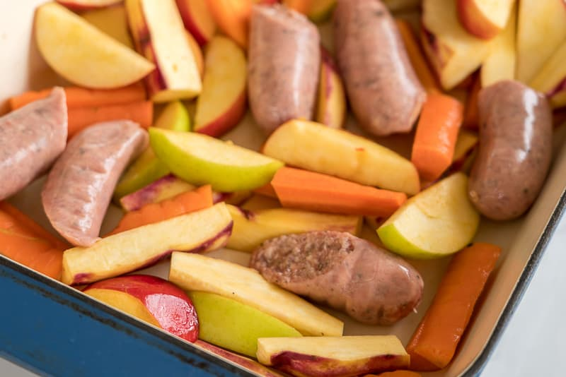 Sausage Bake - Pork, Apple & Sweet Potato