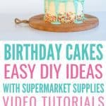 Easy Birthday Cake Ideas For Children
