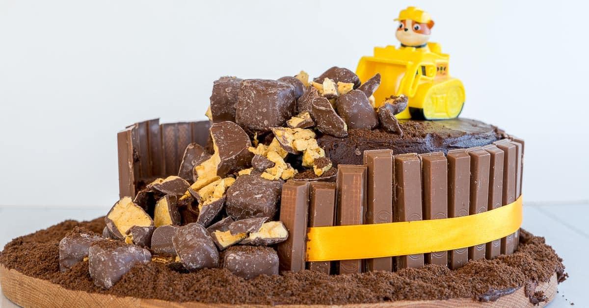 Enjoyable Paw Patrol Birthday Cake Easy Diy Tutorial Videp Funny Birthday Cards Online Alyptdamsfinfo
