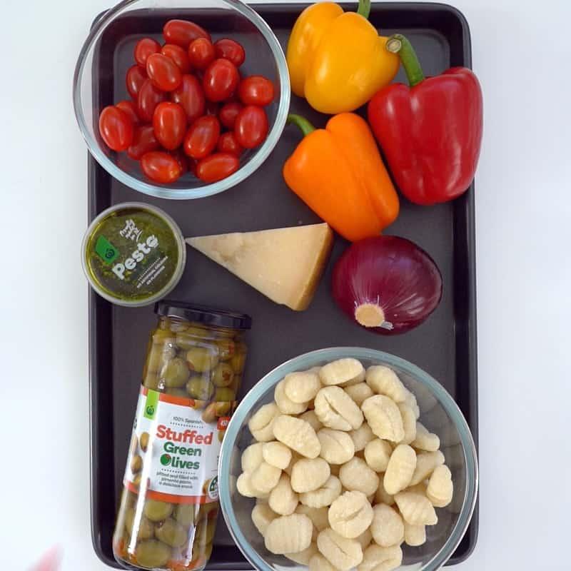 Sheet Pan Gnocchi Ingredients