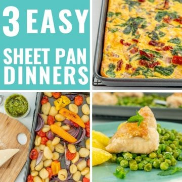 Easy Sheet Pan Dinners