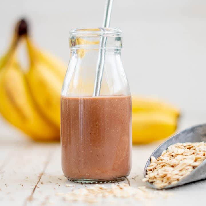 Healthy Homemade Chocolate Milk