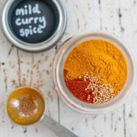 Curry Spice Mix For Kids