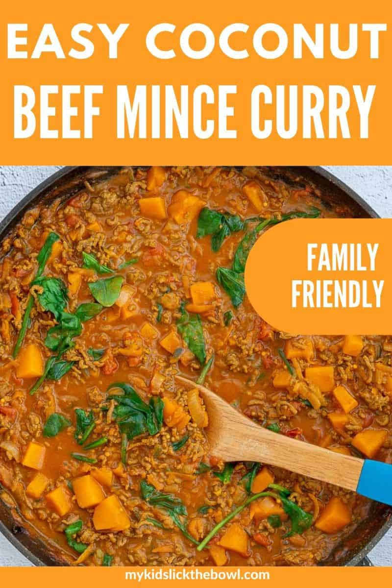 Mince Curry Beef Coconut A Family Friendly Dinner
